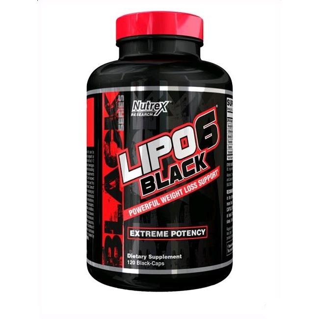 Nutrex: Lipo 6 black (120 капсул)