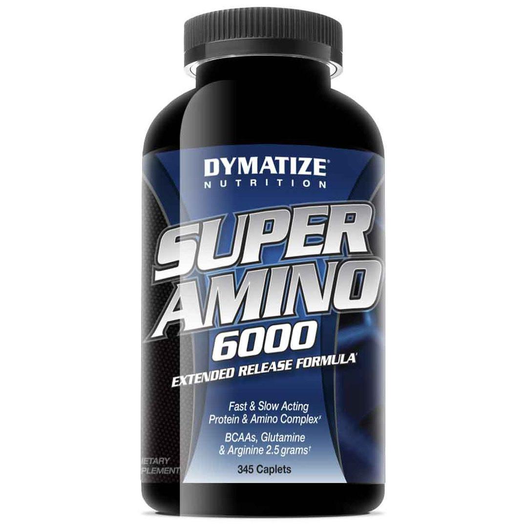 Dymatize: Super Amino 6000 (345 таб, 115 порций)